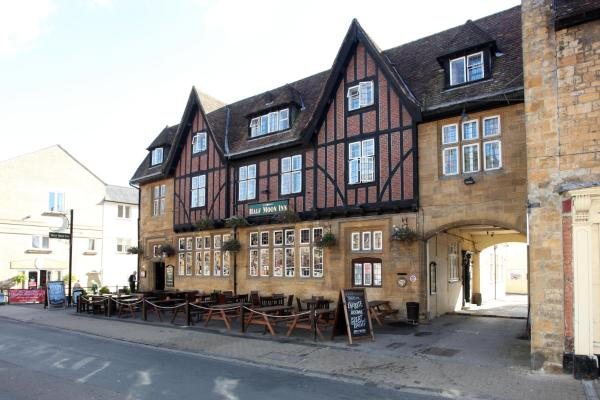 Half Moon by Marston's Inns in Sherborne, Dorset, England