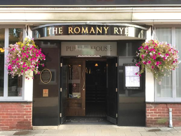 The Romany Rye in East Dereham, Norfolk, England