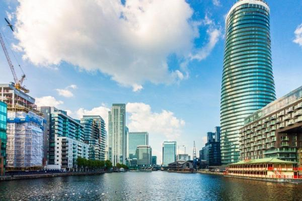 Canary Wharf Apartments in London, Greater London, England