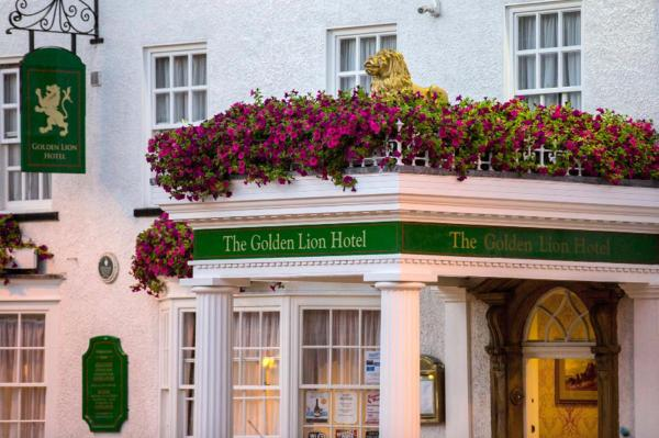 The Golden Lion Hotel in Northallerton, North Yorkshire, England