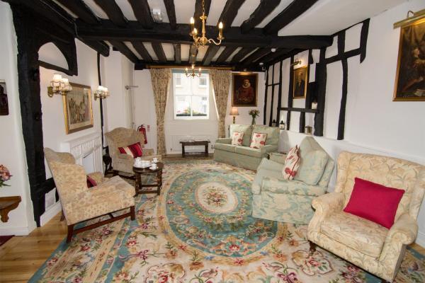 The Abbey Hotel in Bury Saint Edmunds, Suffolk, England