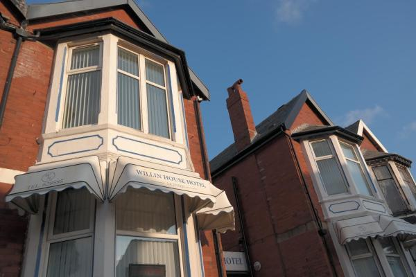 Willin House Hotel in Blackpool, Lancashire, England
