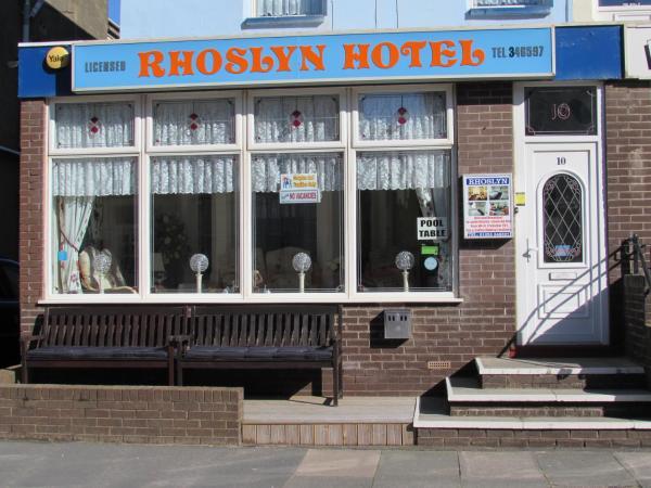 Rhoslyn Hotel in Blackpool, Lancashire, England