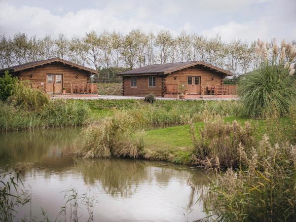 Lake View Lodges in Old Leake, Lincolnshire, England