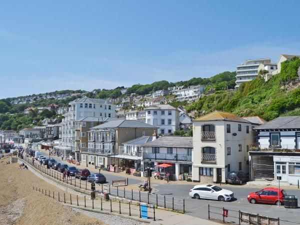On The Beach in Ventnor, Isle of Wight, England