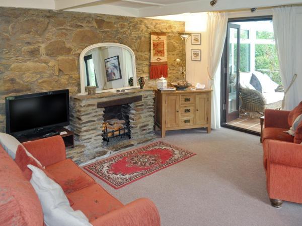 Byre Cottage in Fowey, Cornwall, England