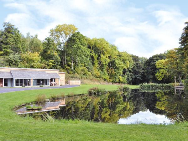 Kingfisher Lodge in Halkyn, Flintshire, Wales