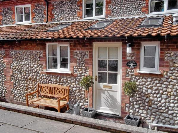 Cobble Stones in Holt, Norfolk, England