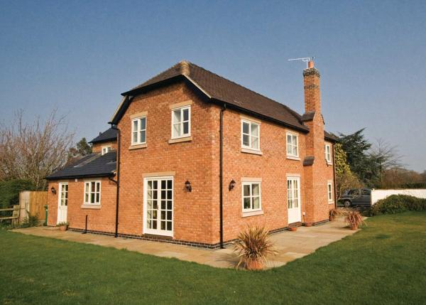 Brook Farm Cottage in Church Minshull, Cheshire, England