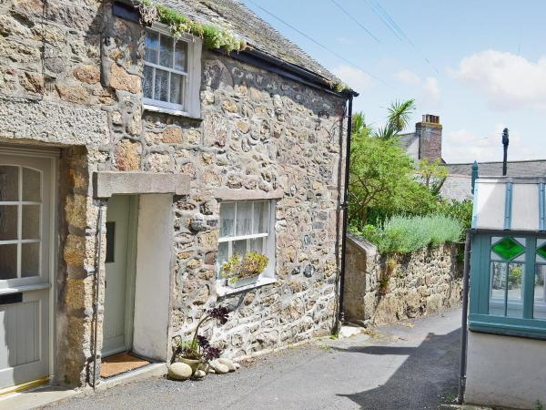 Green Man Cottage in Mousehole, Cornwall, England