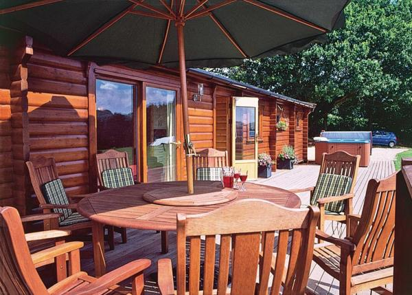 Cider Mill Lodge in Tintern, Monmouthshire, Wales