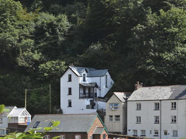 Lorna Doone Cottage in Lynmouth, Devon, England