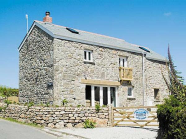 Porth Nanven Barn in St Just, Cornwall, England
