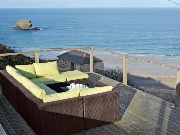 The Sand House in Portreath, Cornwall, England