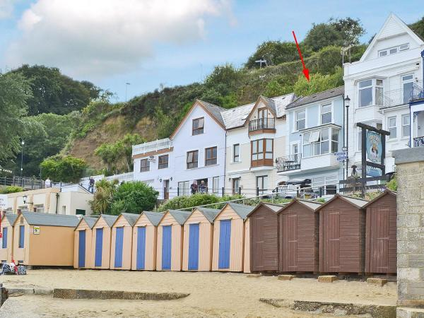 Chine Bluff in Shanklin, Isle of Wight, England