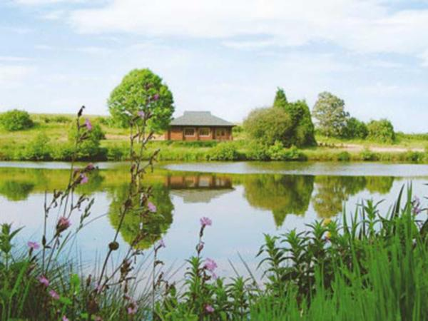 Kingfisher Lodge in Somersby, Lincolnshire, England