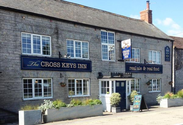Cross Keys Inn in East Lydford, Somerset, England