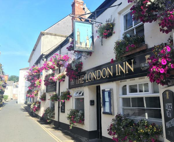 The London Inn in Padstow, Cornwall, England