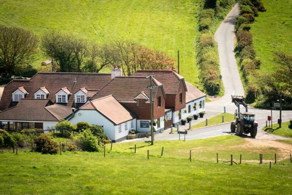 The Chequers Inn in Rookley, Isle of Wight, England