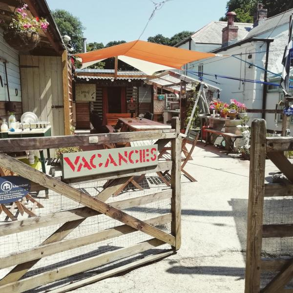 Eden's Yard Backpackers in St Austell, Cornwall, England