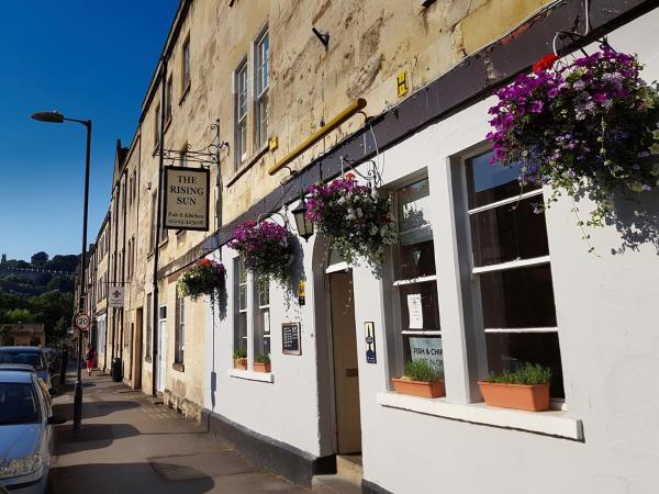 The Rising Sun Inn in Bath, Somerset, England