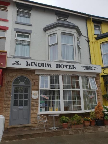 Lindum Hotel in Blackpool, Lancashire, England