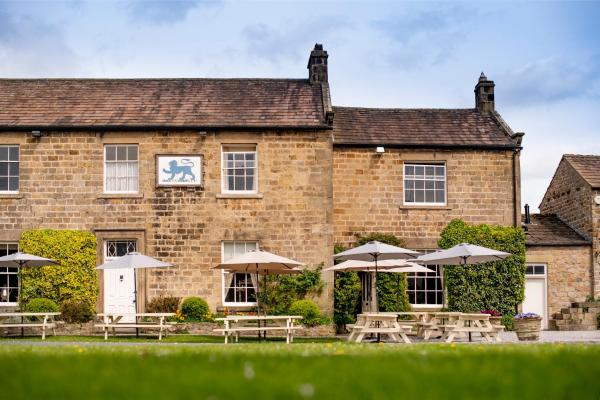 The Blue Lion in Leyburn, North Yorkshire, England