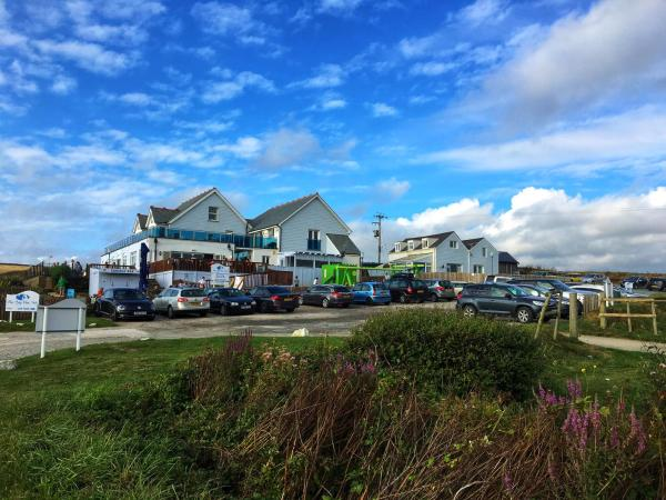 The Bay View Inn in Bude, Cornwall, England