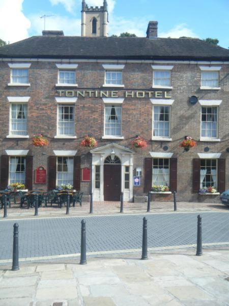 The Tontine in Ironbridge, Shropshire, England