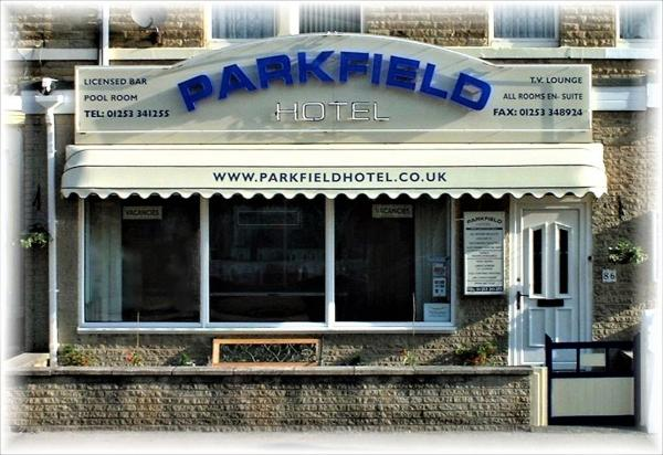 Parkfield Hotel in Blackpool, Lancashire, England