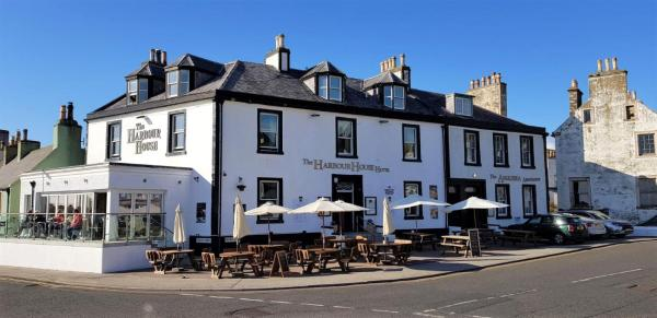 The Harbour House Hotel in Portpatrick, Dumfries & Galloway, Scotland