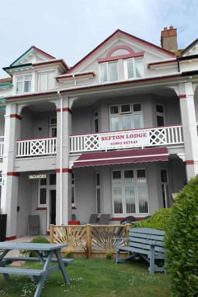 Sefton Lodge in Paignton, Devon, England
