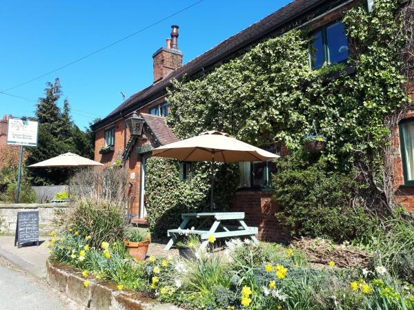 Hare and Hounds Inn in Uttoxeter, Staffordshire, England