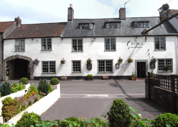 The George at Nunney in Frome, Somerset, England