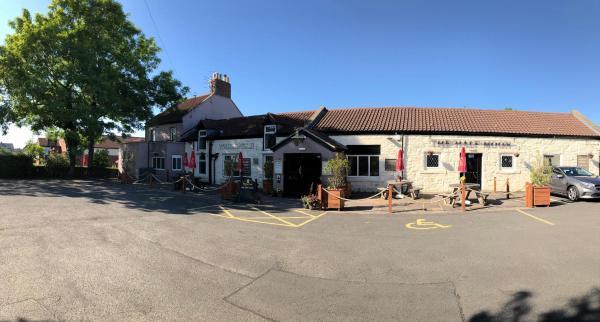 The Half Moon Inn in Ashington, Northumberland, England