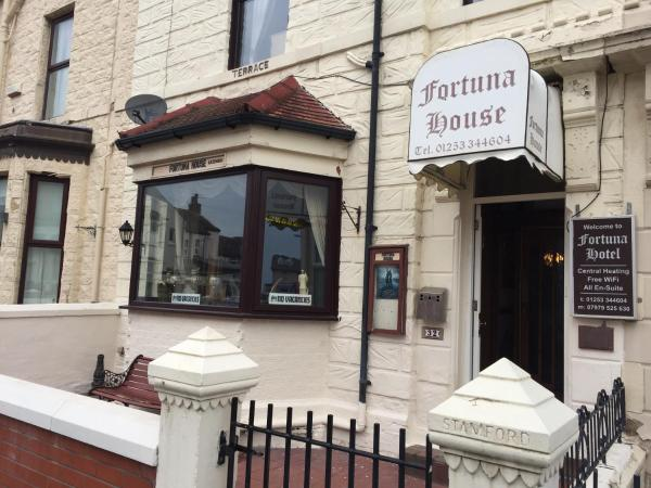 Fortuna House Hotel in Blackpool, Lancashire, England