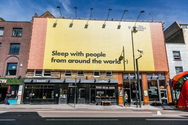 The Dictionary Hostel, Shoreditch, London in London, Greater London, England