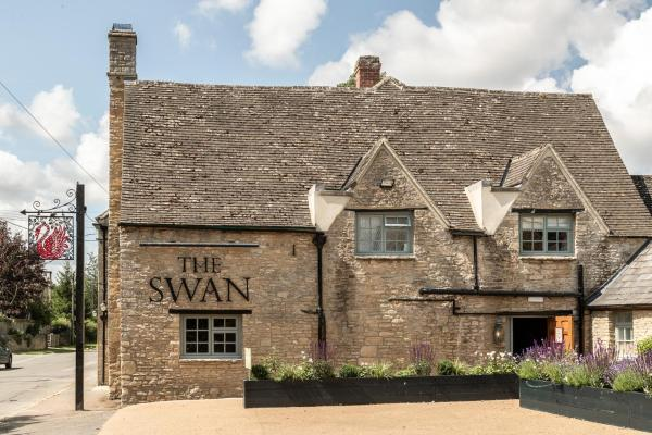 The Swan Inn in Shipton under Wychwood, Oxfordshire, England