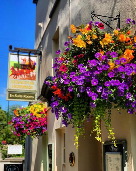 The Coach and Horses Inn in Chepstow, Monmouthshire, Wales