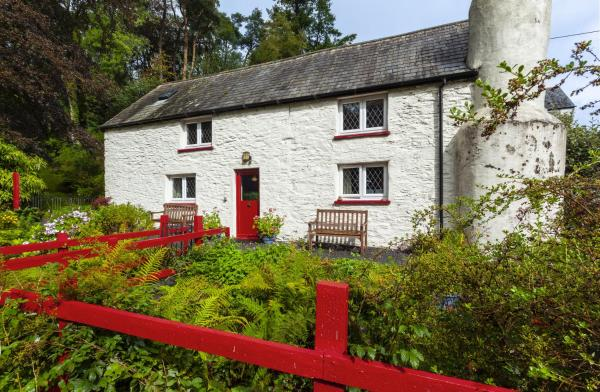 Cascade Cottage in Exford, Somerset, England
