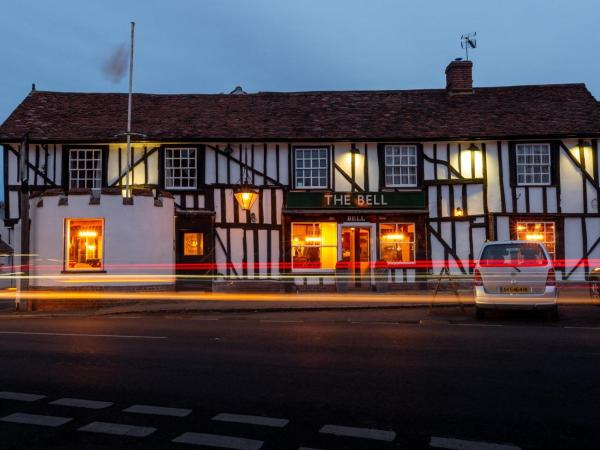 The Bell Hotel in Clare, Suffolk, England