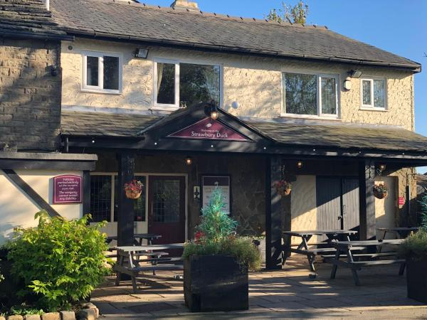 The Strawbury Duck Inn in Darwen, Lancashire, England