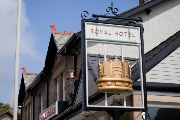 The Royal Hotel in Bolton le Sands, Lancashire, England