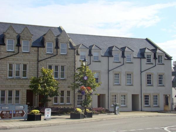 The Town House in Dornoch, Highland, Scotland