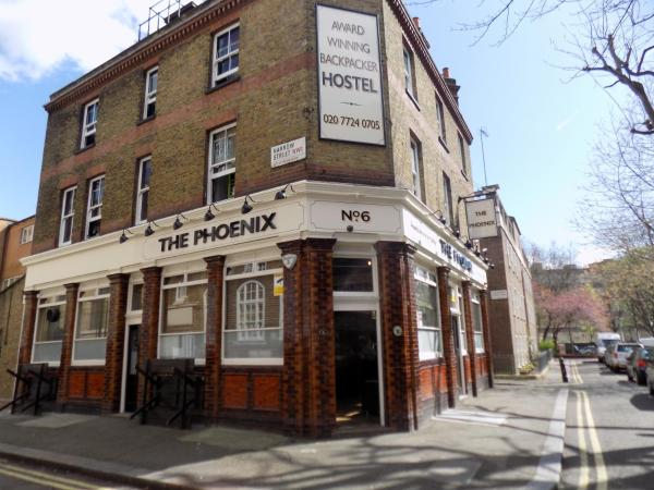 The Phoenix Hostel in London, Greater London, England