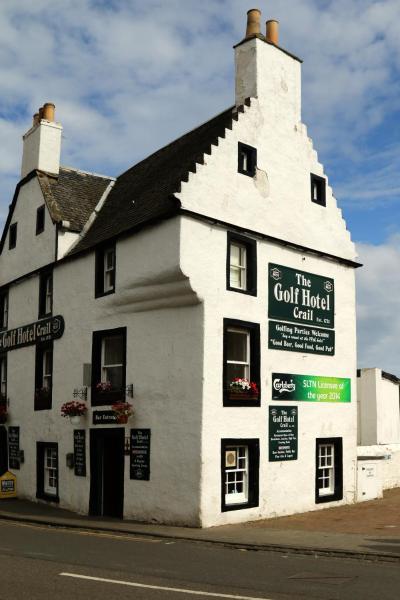 The Golf Hotel in Crail, Fife, Scotland