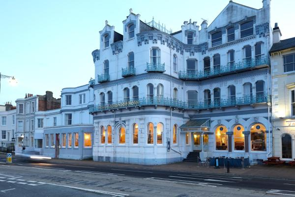 Royal Esplanade Hotel in Ryde, Isle of Wight, England