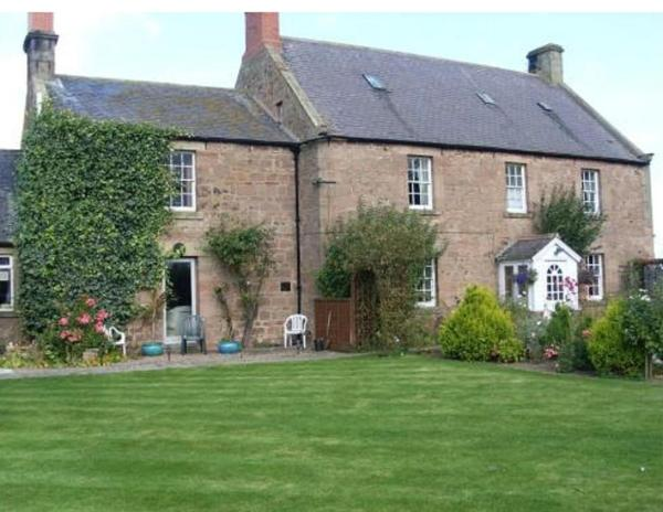 Brockmill Farmhouse in Beal, Northumberland, England