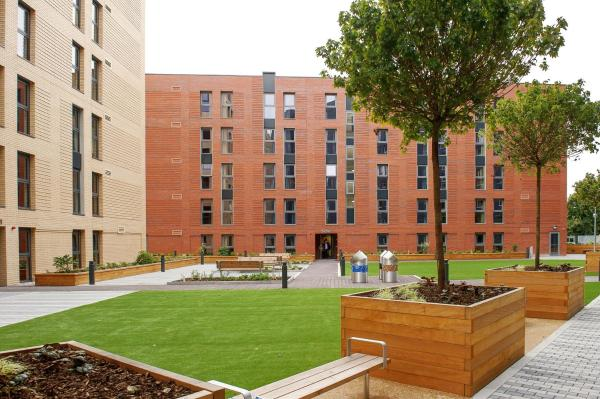 Peel Park Quarter (Campus Accommodation) in Salford, Greater Manchester, England