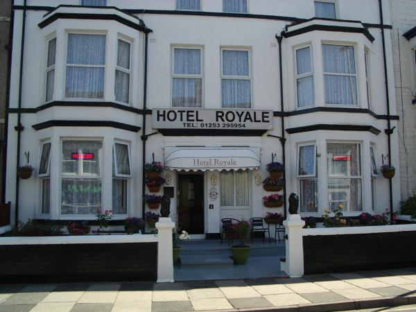 Hotel Royale in Blackpool, Lancashire, England